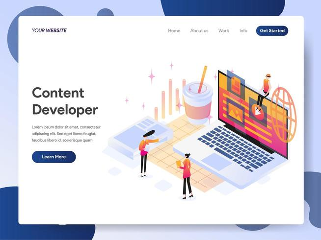 landing-page-template-of-content-developer